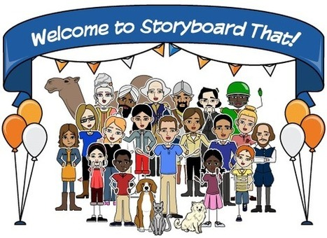 Storyboard That: Graphic Organizers and Comic Strips - Teacher Tech | Learning Bytes from The Consultants-E | Scoop.it