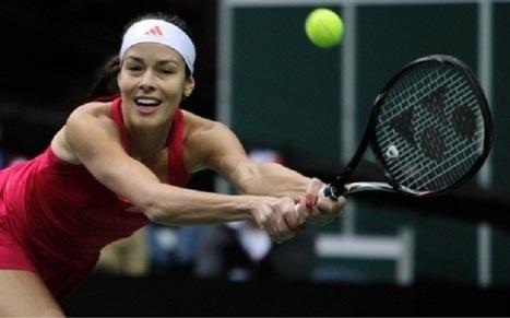 Ana Ivanovic successful at WTA opening in Stutgart | Tenis99 | Scoop.it