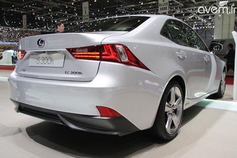 Lexus – Première européenne pour la nouvelle IS 300h | Lexus vu par le web (français) | Scoop.it