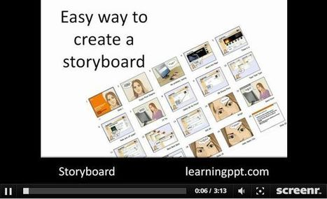 Screenr - an easy way to create storyboard handouts for PowerPoint presentations | Digital Presentations in Education | Scoop.it