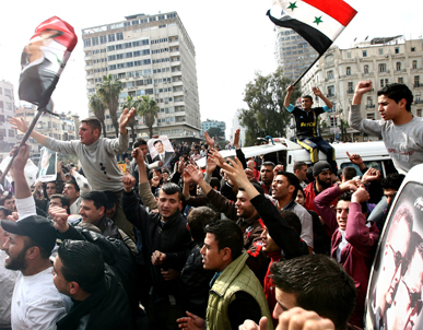 How the Syrian Uprising Could Rattle the Region | Coveting Freedom | Scoop.it