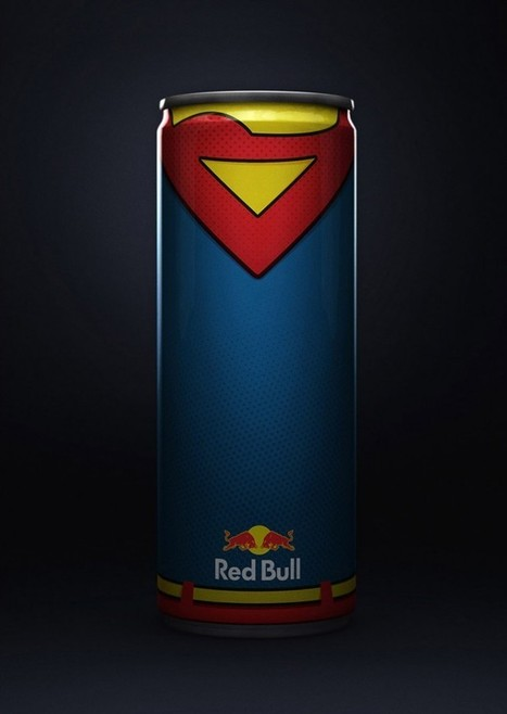 Les canettes Red Bull en mode Super-Héros | Industrie agroalimentaire | Scoop.it