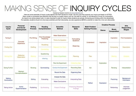Making Sense of INQUIRY CYCLES | Ways we learn | Scoop.it