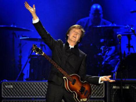Paul McCartney tocó tres temas de su nuevo disco en Las Vegas - PRIMICIAS YA | El Diario del Espectáculo | Music | Scoop.it