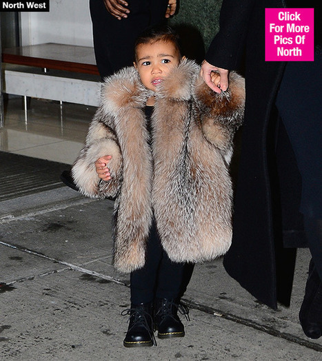 North West's Fashion Week Fur Coat — Shocking $3500 Price Tag - Hollywood Life | Wilson Jeriff Scoop | Scoop.it