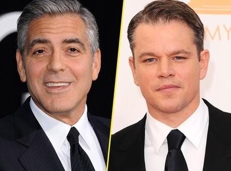 Buzz : Matt Damon rejoint George Clooney pour la nouvelle pub ... - Public.fr   La pub à la télé et sur le net   Scoop.it