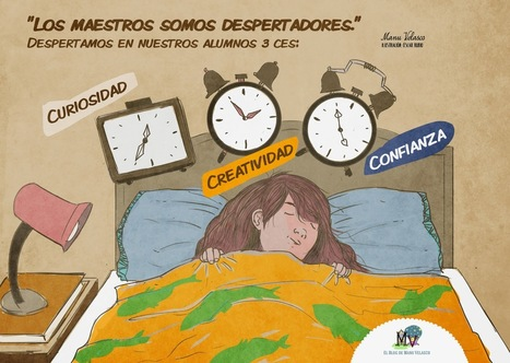 Los maestros somos despertadores | Scoop-it-Ajos educativos | Scoop.it