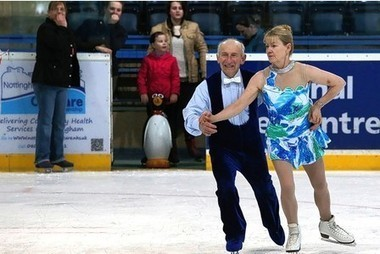 "Smoothie Phil, 80, still loves a glide over the ice - Nottingham Post | ""adult figure skating"" 