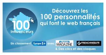 Top 100 influenceurs | web et reseaux sociaux | Social media | Scoop.it