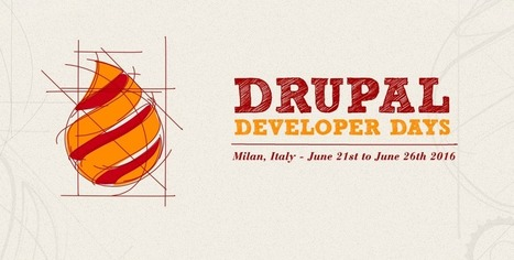 Drupal Developer Days 2016: vi aspettiamo a Milano | seeweb | Scoop.it