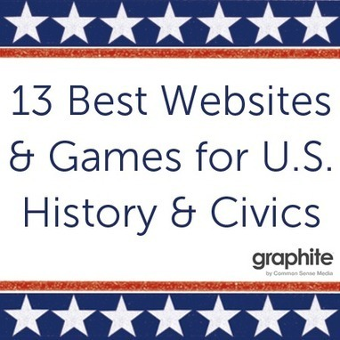13 Best Websites and Games for U.S. History and Civics | Smart Media | Scoop.it