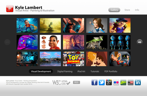 Kyle Lambert - Visual Artist - Painting & Illustration | Contemporary Digital Artists | Scoop.it
