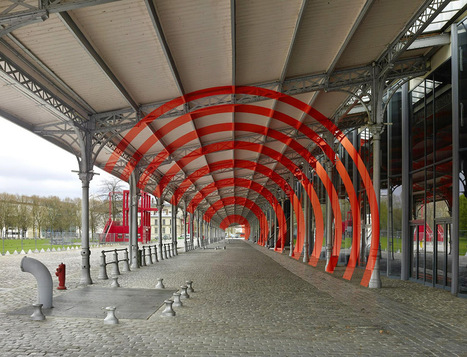 New Large-scale Geometric Illusions in Paris by Felice Varini | As digitally seen ... | Scoop.it