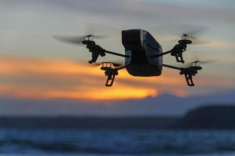 De drones d'engins pour couvrir l'actualité | DocPresseESJ | Scoop.it