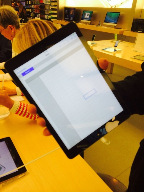 First Impressions of the iPad Air - teachingwithipad.org | Aprendiendo a Distancia | Scoop.it