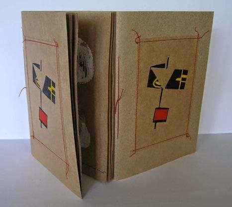 Bookmarking Book Art - Helen Malone | Books On Books | Scoop.it