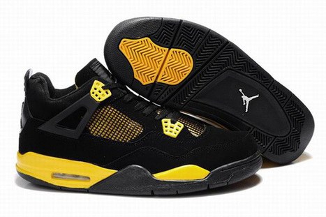 Nike Air Jordan IV 4 Thunder 2012 Mens Shoes | want and share | Scoop.it