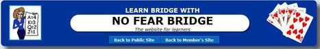 No Fear Bridge - it really is the best place to learn Acol bridge | Learn Acol Bridge | Scoop.it