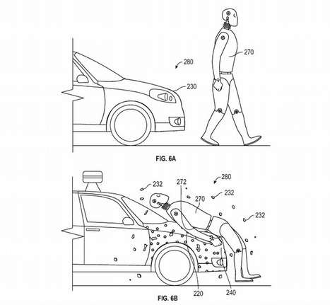 Google patents pedestrian flypaper for self-driving cars | Patents and Patent Law | Scoop.it