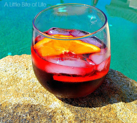 Lolailo Sangria Spritzer - A Little Bite of Life | The Cocktail Movement | Scoop.it
