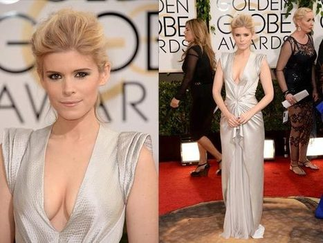 Daring Dresses & Necklines At The 2014 Golden Globes | natural | Scoop.it
