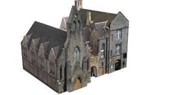 Queen's Gallery. Edinburgh, City of Edinburgh, UK by wysywyg - 3D Warehouse | 3D Model | Scoop.it