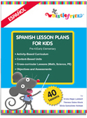 Spanish Lesson Plans for Kids from Whistlefritz | Spanish | Scoop.it