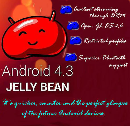 Jelly Bean Version 4.3: Coming soon at a Android Device near You | Web Development | Scoop.it