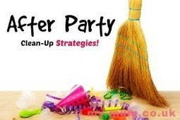 After Party Cleanup Strategies! | home | Scoop.it