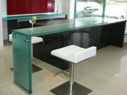 The Uses & Benefits of Raised Glass Countertops - CBD Glass | DIY Home Renovations | Scoop.it