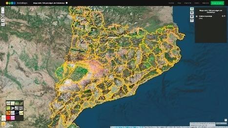 Observatorio del Paisaje: El mapa de los 135 paisajes de Cataluña disponible en cinco formatos de consulta | Nuevas Geografías | Scoop.it
