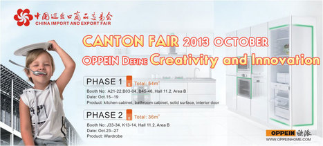 The 114th China Import and Export Fair (Guanzhou Autumn Canton Fair) | Kitchen Furniture --Kitchen Cabinet - OP13-007 | Scoop.it