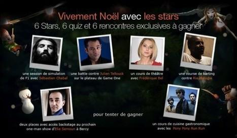Orange fête Noël avec des stars sur Facebook | Gouvernance web - Quelles stratégies web  ? | Scoop.it