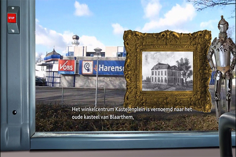 Transparent AR Windows Transform Bus Rides Into History Lessons [Video] - PSFK | Augmented Reality News and Trends | Scoop.it