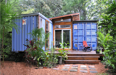 Ugly Duckling Shipping Container Home Built by Artist Is a Beautiful Swan on the Inside | Organic Pathos | Scoop.it