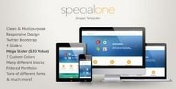 SpecialOne - Themeforest Responsive Drupal Theme | Theme Mart | Scoop.it