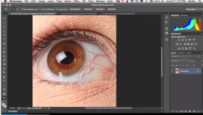 Photoshop How To: Retouch Eyes With Photoshop CS6 | D-M-Design | Scoop.it