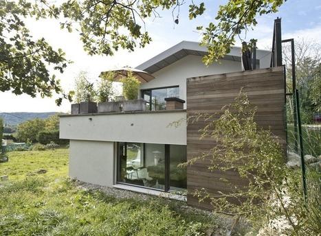 Maison passive… à l'action | Calcia Infos | Solutions béton pour maisons individuelles performantes | Scoop.it