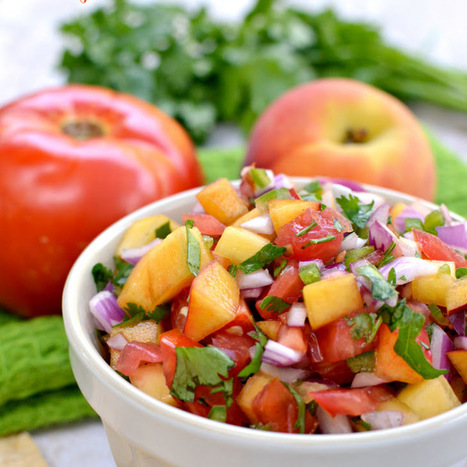 Fresh Peach Salsa Recipe | Food Security, Health, Nutrition, Physical Fitness, & Recreation | Scoop.it