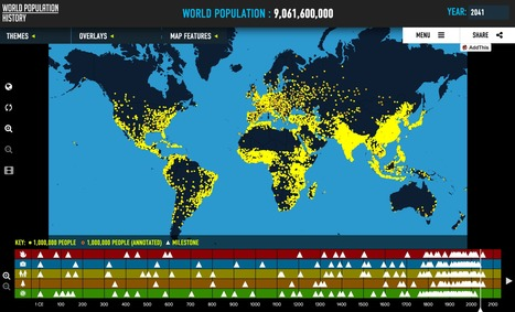 World Population History | Interactive & Immersive Journalism | Scoop.it