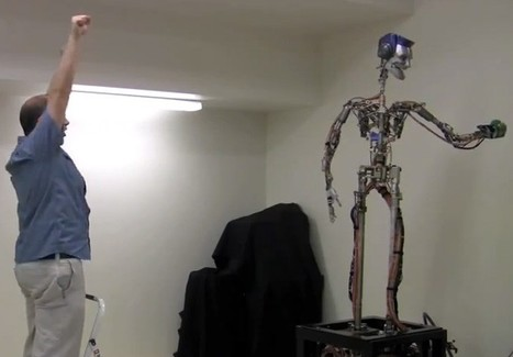 Disney Research robot plays catch and juggles with humans, won't replace their ... - Engadget | robotics | Scoop.it