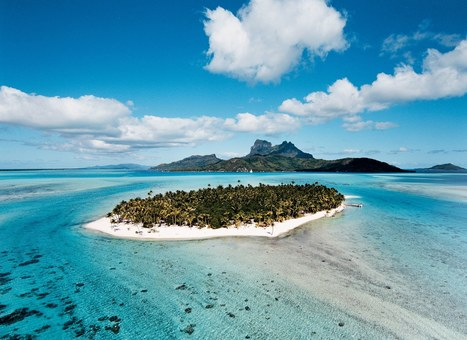 François Nars Is Selling His Island in Bora-Bora | Architectural Digest | Business News & Finance | Scoop.it