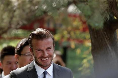 JLR signs David Beckham in China drive | BUSS4 Section A Case Studies | Scoop.it