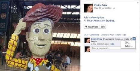 Facebook låter dig nu redigera dina kommentarer | Facebookskolan | Folkbildning på nätet | Scoop.it