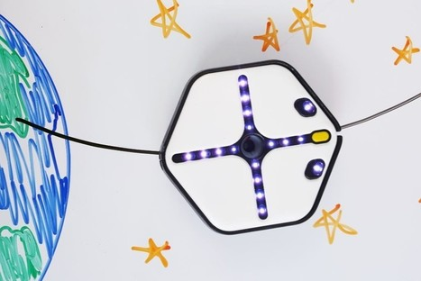 A Wall-Crawling Roomba That Teaches Kids to Code | STEAM | Scoop.it