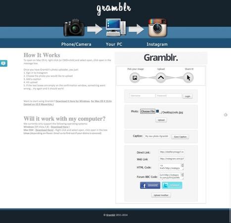 10 outils indispensables et gratuits pour gérer Instagram | Blogosphère | Scoop.it