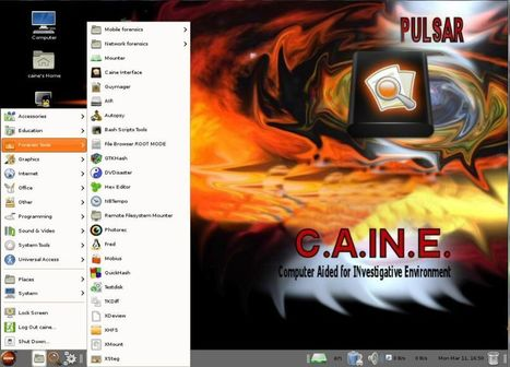 "CAINE Live CD/DVD - computer forensics digital forensics | ""Computação Forense"" 