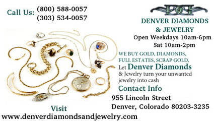 Jewelry Stores In Denver   Denver Diamonds and Jewelry   Scoop.it