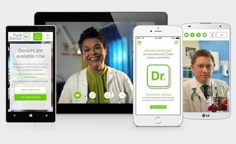 Un «Skype entre patients et médecins» lève 8,5 millions de dollars | Revolution in HealthCare | Scoop.it