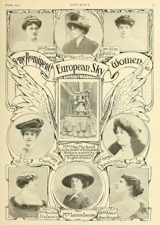 Women in Aviation | Smithsonian | Intervalles | Scoop.it